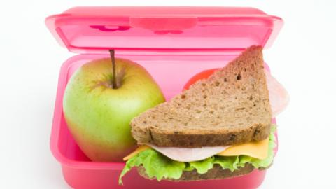Υγιεινά σνακ για το σχολείο!
