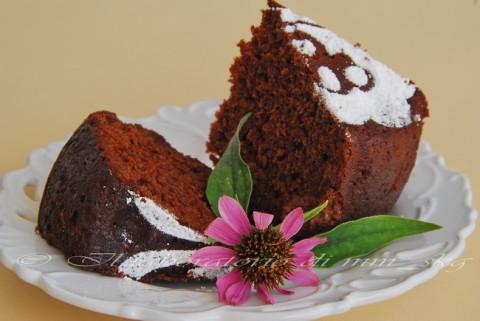 Σοκολατένιο κέικ… με πράσινο κολοκύθι!