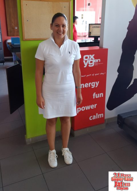 Μηνά Ελένη:  έχασα 3 κιλά και 7,5 πόντους σε  μόλις 21 ημέρες