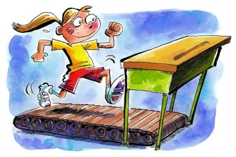 Μεγαλύτερη απόδοση στο σχολείο; Η λύση είναι η γυμναστική!