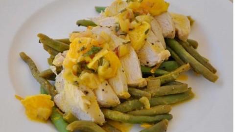 Fitness Diets: Κοτόπουλο με πορτοκάλι ( 302 θερμίδες,19g υδατάνθρακες και 29g πρωτεΐνη )