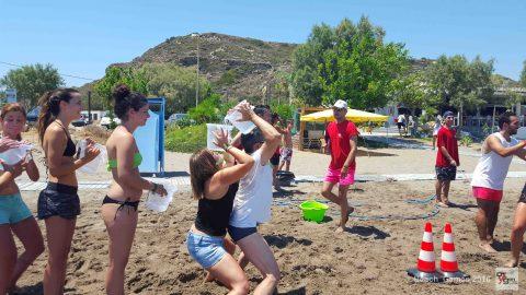 Με απόλυτη επιτυχία  ολοκληρώθηκε η εκδήλωση  «Beach Games 2016»