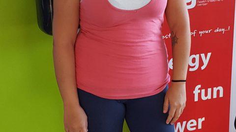 Στο γυμναστήριο myoxygen σε λιγότερο από 10 επισκέψεις  έχασα 2 κιλά