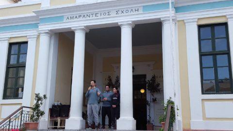 Γυμναστική για τα παιδιά στην Αποκριάτικη Εκδήλωση της  Αμαράντειος Σχολής