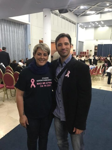 Το Myoxygen προσφέρει δωρεάν γυμναστική στους Καρκινοπαθείς της Ρόδου