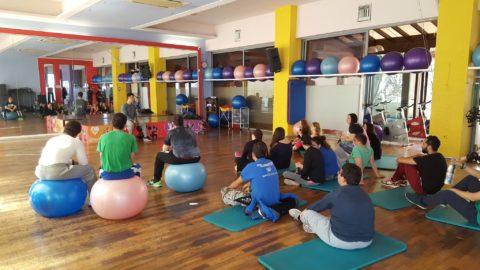 To Myoxygen ενημέρωσε τους μαθητές του ειδικού γυμνάσιου Ρόδου σχετικά με την Γυμναστική