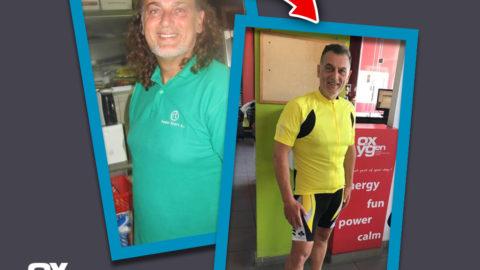Γιώργος Κατσίλλης – 53 ετών « Έχασα τα περιττά κιλά & πέταξα τα χάπια της χοληστερίνης.»