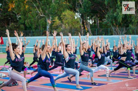 Yoga για καλό σκοπό
