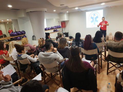 Μέλη & Γυμναστές του Myoxygen Πιστοποιήθηκαν στις Πρώτες Βοήθειες