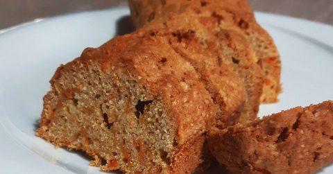 Κέικ καρότου χωρίς ζάχαρη